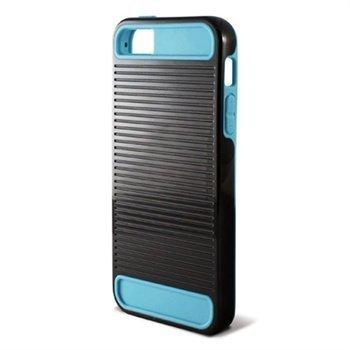 iPhone 5 iPhone 5S iPhone SE Ksix Ebot TPU-Suojakuori Musta / Sininen