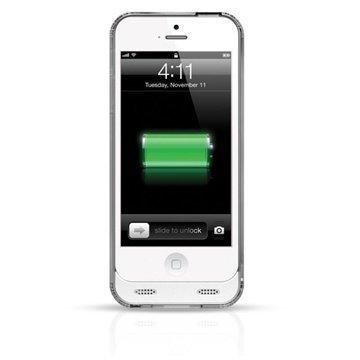 iPhone 5 iPhone 5S iPhone SE Naztech Akkukotelo Valkoinen