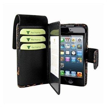 iPhone 5 iPhone 5S iPhone SE Piel Frama Lompakko & Nahkakotelo Nspire