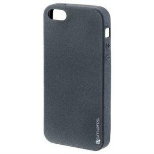 iPhone 5/5S/SE 4smarts UltiMAG Sandburst Kotelo Musta