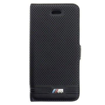 iPhone 5/5S/SE BMW M Wallet Leather Case Black