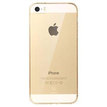 iPhone 5/5S/SE Baseus Sky Suojakuori Kulta