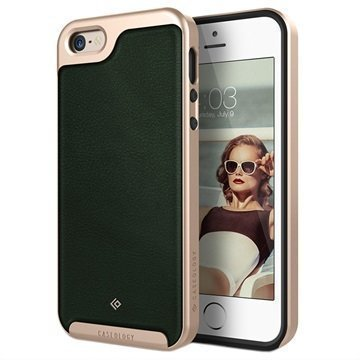 iPhone 5/5S/SE Caseology Envoy Case Green / Gold