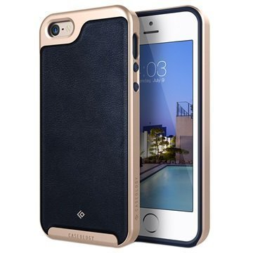 iPhone 5/5S/SE Caseology Envoy Case Navy Blue / Gold