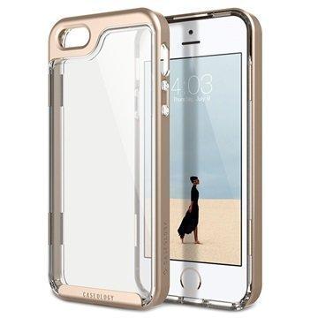 iPhone 5/5S/SE Caseology Skyfall Hybridi Suojakuori Kulta