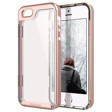 iPhone 5/5S/SE Caseology Skyfall Kotelo Ruusukulta