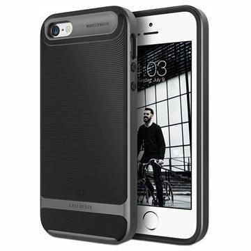 iPhone 5/5S/SE Caseology Wavelength Kotelo Musta