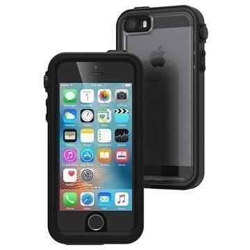 iPhone 5/5S/SE Catalyst Vedenkestävä Kotelo Musta