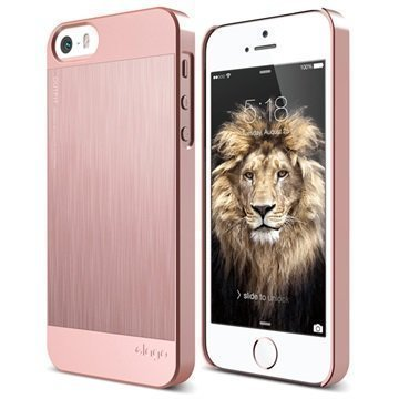 iPhone 5/5S/SE Elago Outfit Matrix Case Rose Gold