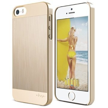 iPhone 5/5S/SE Elago Outfit Matrix Kuori Samppanjakulta