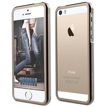iPhone 5/5S/SE Elago S5 Aluminium Bumper Champagne Gold