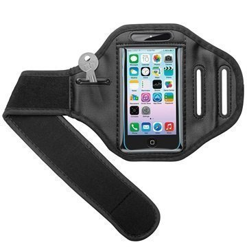 iPhone 5/5S/SE Goobay SportBag Armband Black