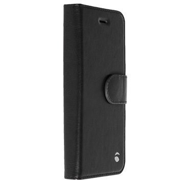 iPhone 5/5S/SE Krusell Ekero 2-in-1 Wallet Case Black