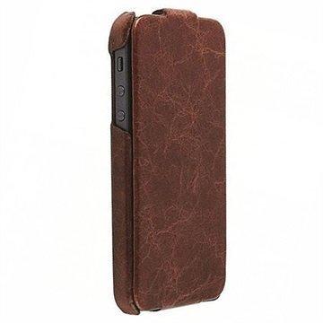 iPhone 5/5S/SE Krusell Tumba Slimcover Kotelo Ruskea