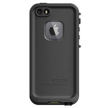iPhone 5/5S/SE LifeProof Fre Vedenkestävä Kotelo Musta