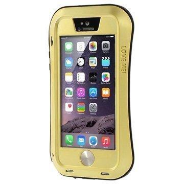 iPhone 5/5S/SE Love Mei Powerful Suojakuori Kulta