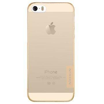 iPhone 5/5S/SE Nillkin Nature TPU Suojakuori Ruskea