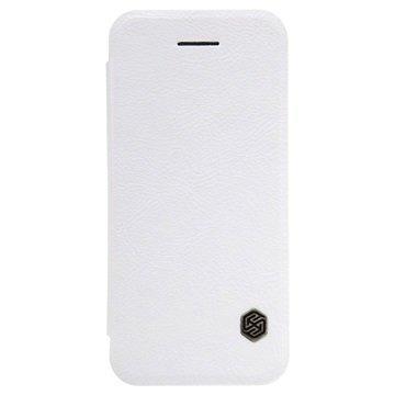 iPhone 5/5S/SE Nillkin Qin Sarjan Läppäkotelo Valkoinen