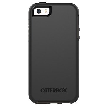 iPhone 5/5S/SE OtterBox Symmetry Series Kotelo Musta