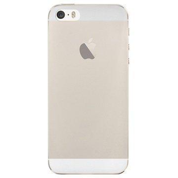 iPhone 5/5S/SE Puro 0.3 Ultra Slim Nude Silikonikotelo Läpinäkyvä