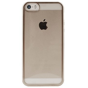 iPhone 5/5S/SE Puro Satin TPU Case Gold