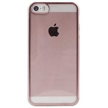 iPhone 5/5S/SE Puro Satin TPU Case Rose Gold