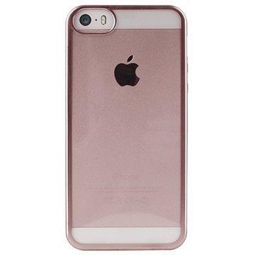iPhone 5/5S/SE Puro Satin TPU Case Rose Gold