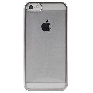 iPhone 5/5S/SE Puro Satin TPU Case Silver