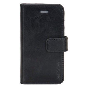 iPhone 5/5S/SE RadiCover 2-in-1 Lompakkokotelo Musta