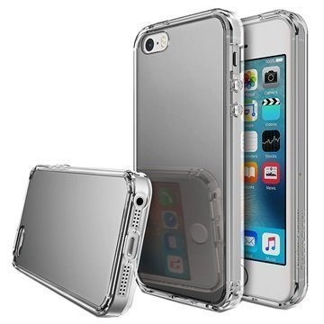 iPhone 5/5S/SE Ringke Mirror Case Silver