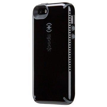 iPhone 5/5S/SE Speck CandyShell Amped Kotelo Musta / Liuskekivenharmaa