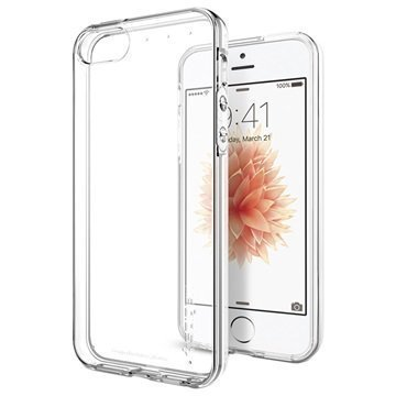 iPhone 5/5S/SE Spigen Liquid Crystal TPU Case Clear