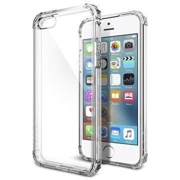 iPhone 5/5S/SE Spigen Ultra Hybrid Case Crystal Clear