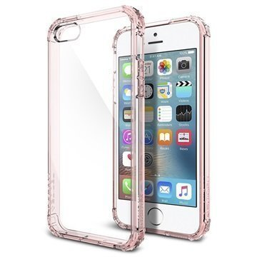 iPhone 5/5S/SE Spigen Ultra Hybrid Case Crystal Pink