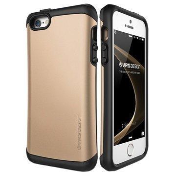 iPhone 5/5S/SE VRS Design Thor Hard Drop Kotelo Kulta