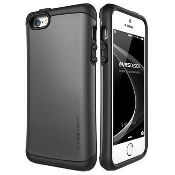 iPhone 5/5S/SE VRS Design Thor Hard Drop Kotelo Metallihopea