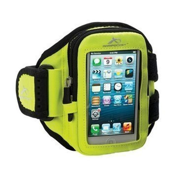 iPhone 5C Armpocket i-10 Armband M Yellow