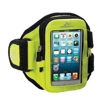 iPhone 5C Armpocket i-10 Käsivarsihihna S Keltainen