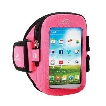 iPhone 5C Armpocket i-15 Käsivarsihihna S Vaaleanpunainen