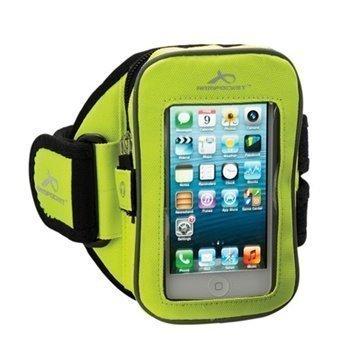 iPhone 5C Armpocket i-25 Käsivarsikotelo S Keltainen