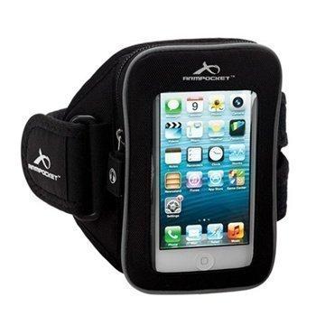 iPhone 5C Armpocket i-25 Käsivarsikotelo S Musta