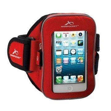iPhone 5C Armpocket i-25 Käsivarsikotelo S Punainen