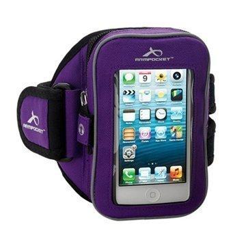 iPhone 5C Armpocket i-25 Käsivarsikotelo S Violetti
