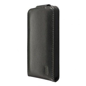 iPhone 5C Artwizz SeeJacket Flip Nahkakotelo Musta