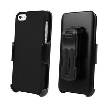 iPhone 5C Beyond Cell 3in1 Combo Case Black