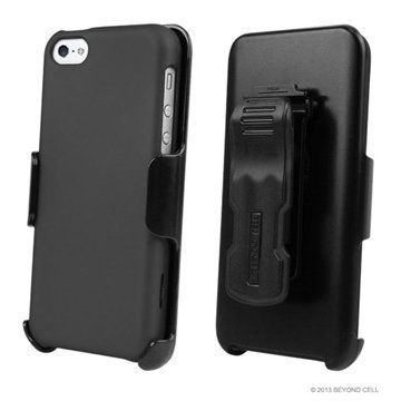 iPhone 5C Beyond Cell 3in1 Combo Case Grey / Black