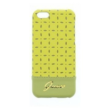 iPhone 5C Guess Gianina Case Yellow