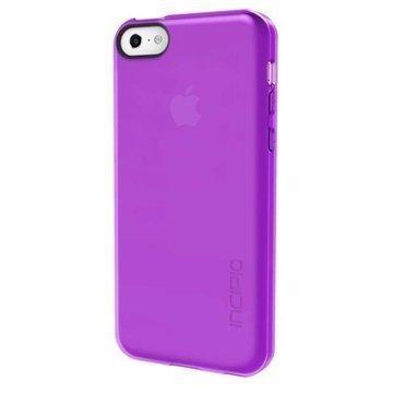 iPhone 5C Incipio Feather Clear Suojakotelo Violetti