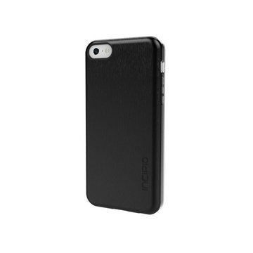 iPhone 5C Incipio Feather Shine Snap-on Cover Black