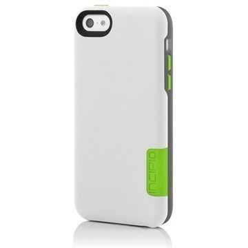 iPhone 5C Incipio Phenom Case White / Green